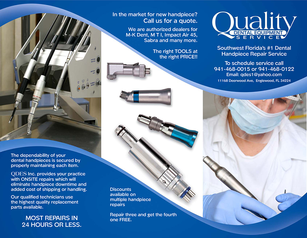Quality Dental Equipment Service Brochure