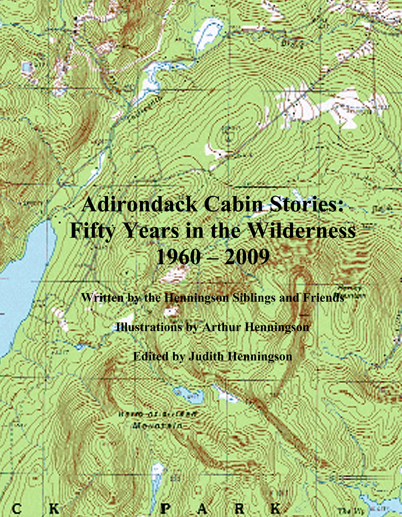 Adirondack cabin stories front cover